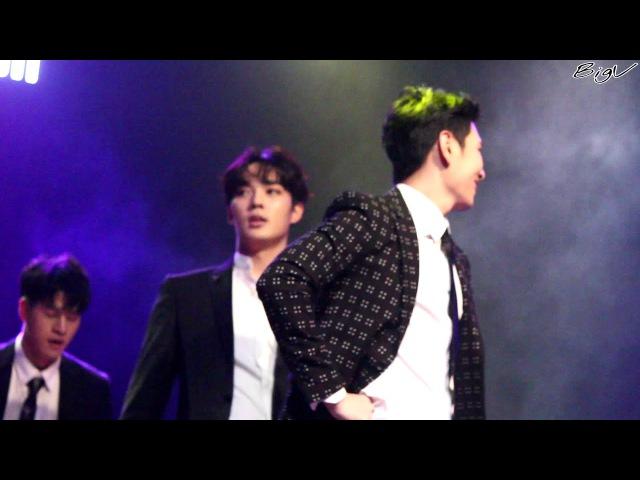 170924 크로스하츠 서울 1부 세영 상민 용석 댄스 (뒷부분 조금)