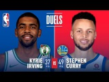 Kyrie Irving and Stephen Curry Duel at Oracle   January 27, 2018