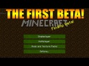 ★Minecraft Gameplay From 2011 2012 The First BETA Versions Mods Texture Packs★