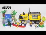 Lego City 60160 Jungle Mobile Lab Speed Build