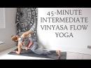 45-MINUTE DYNAMIC YOGA FLOW | Intermediate Level | CAT MEFFAN