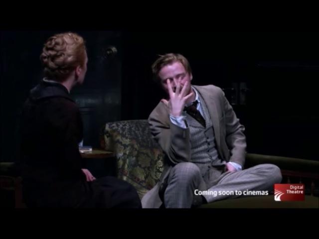 «Ghost» by Henrik Ibsen - Scene from Almeida Theatre (Lesley Manville Jack Lowden)