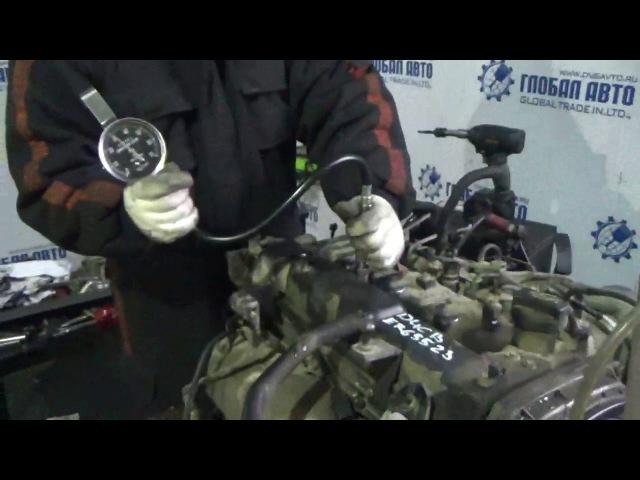 Проверка компрессии в двигателе D4CB ER65523 Grand Starex 174л.с.-2012 Euro IV