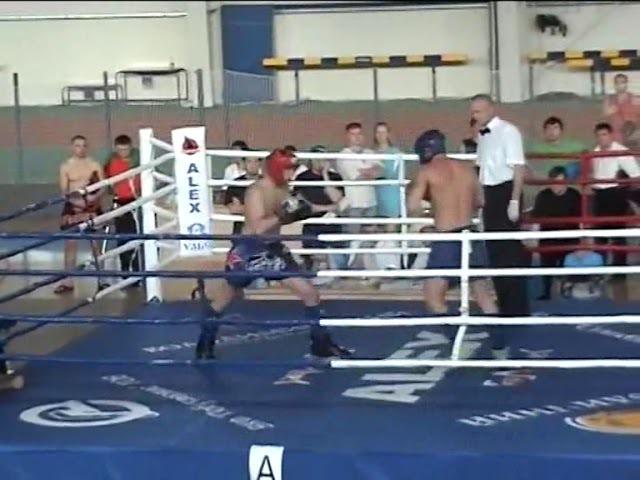 Пискарев Евгений - Кишенко Артур, Спартакиада г.Сумы, 3й бой, июнь 2007