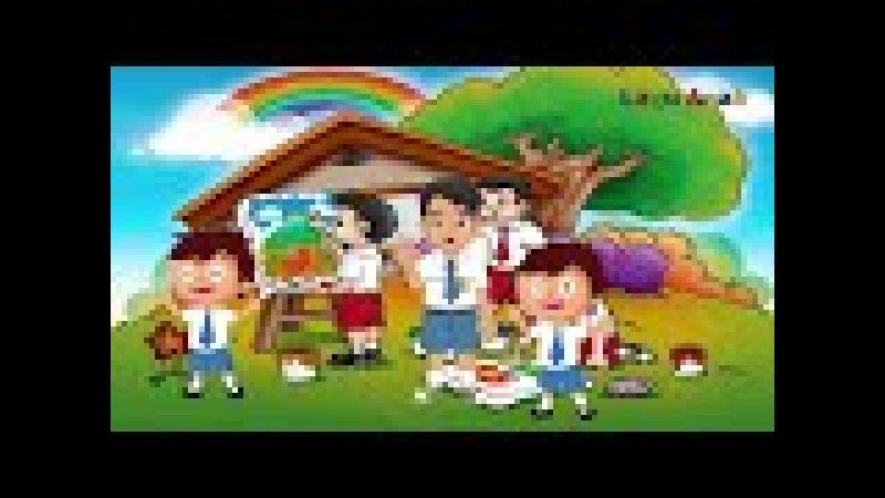 Lagu Anak Pergi Belajar | Pergi Sekolah | Oh ibu dan Ayah Selamat pagi