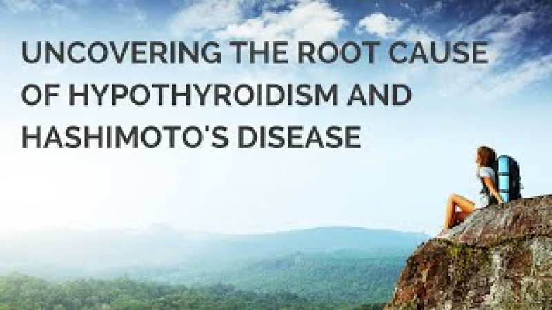 Webinar Uncovering the Root Cause of Hypothyroidism and Hashimotos Disease