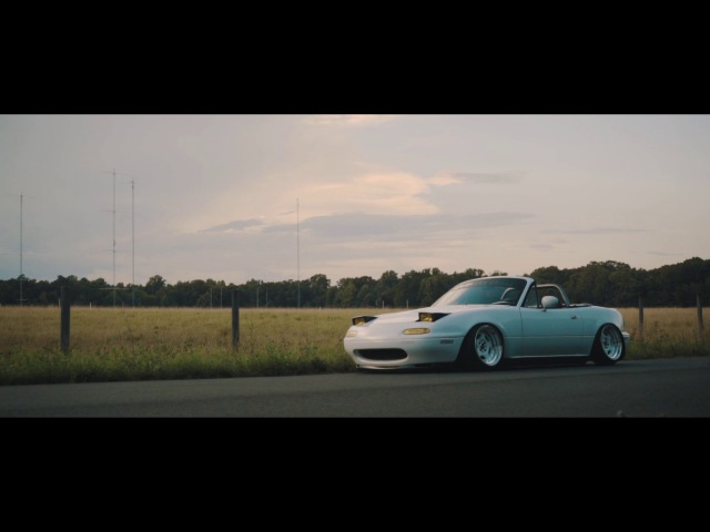 Slammed White MX5 | Aidan Templin | Tarmac Apparel