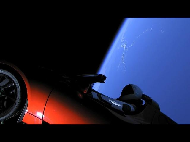 Игры(недорогие) в которые играют люди Запуск в космос электромобиля Tesla Roadster на ракете Falcon Heavy 6.02.2018