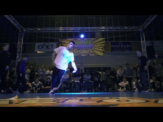 Lunatik Energy vs Top 9 / Battle Chambér'Hip Hop Session 2017