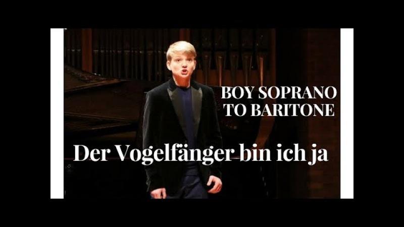 Der Vogelfänger bin ich ja | Aksel Rykkvin (14y baritone) | Natallia Papova (piano)