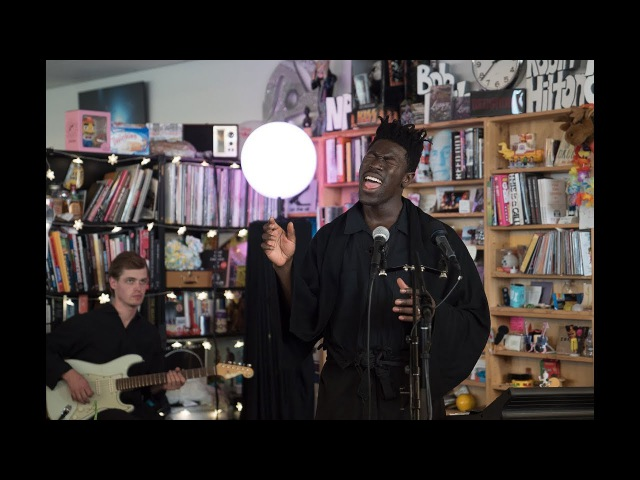 Moses Sumney NPR Music Tiny Desk Concert