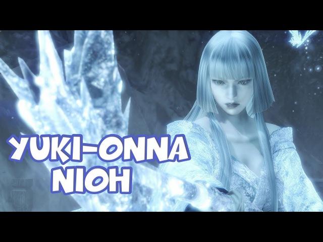 NIOH - Yuki-onna Юки - онна (PC) 1440p