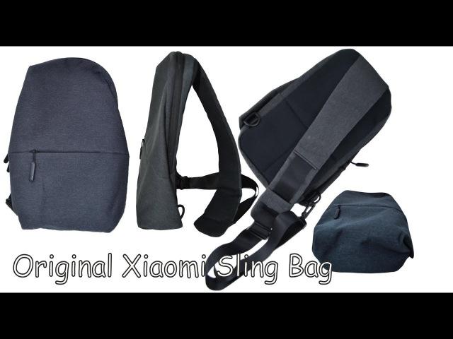 Xiaomi Sling bag II Рюкзак слинг II Обзор II Тест вместимости II Фото без ретушиII Gearbest II 600р.
