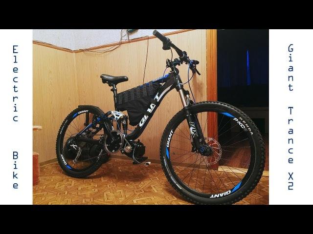 Electric bike Cyclone mid-drive 3000W. Самодельный электровелосипед.