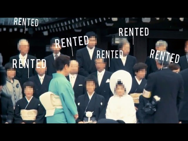 In Japan, rental family companies on the rise