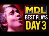 Best Plays MDL Macau Minor - Dota 2 - Day 3