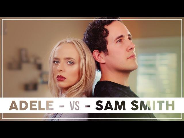 ADELE vs SAM SMITH Mashup ft Madilyn Bailey Casey Breves