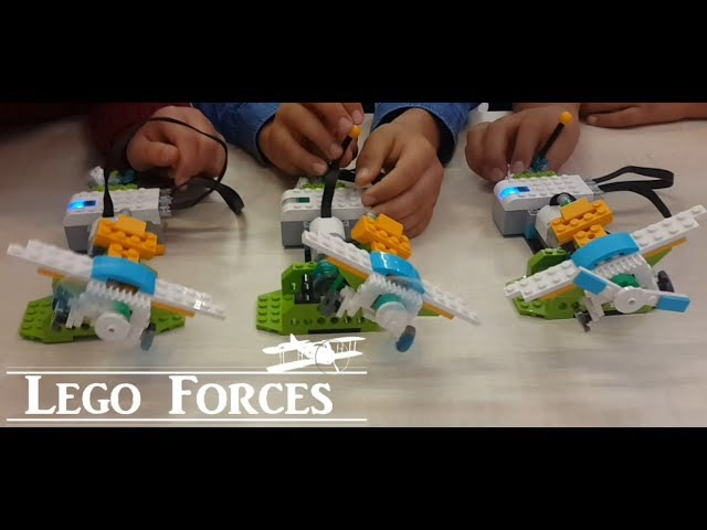 Lego Air Forces Airplane - Lego WeDo 2.0 Projects