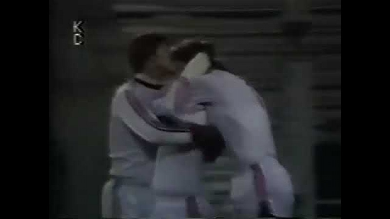 20.10.1982 Кубок УЕФА 1/16 финала 1 матч Спартак (Москва) - Харлем (Нидерланды) 2:0