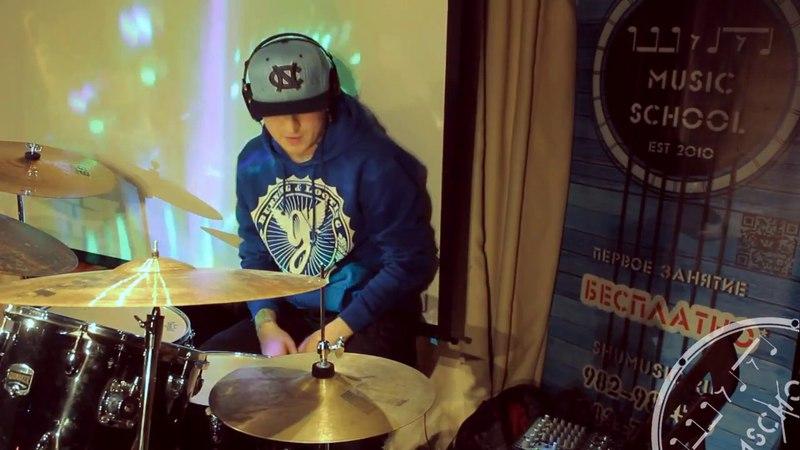Анвар Баисламов - Limp Bizkit - My Way ( drum cover)