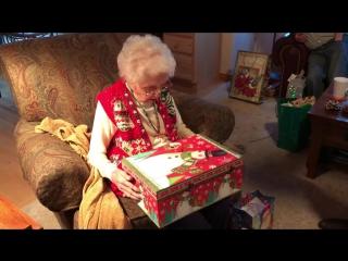 Трогательный подарок маме на Рождество