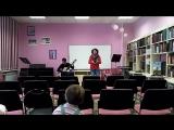 Федерико Гарсиа Лорка: Поэзия испанской гитары. Репетиционный прогон. Фрагмент.