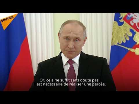 Poutine s'adresse à la population «Les mots de reconnaissance ne suffisent pas»