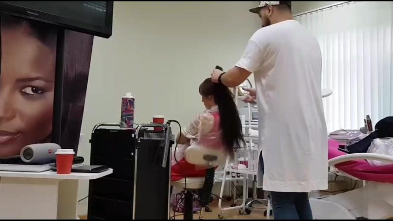 Serjfedik: Adorn - гидрозаряд: коллагеновое восстановление волос by Marcia Teixeira