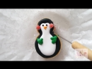 How to Decorate Snowman and Penguin Cookies with Royal Icing