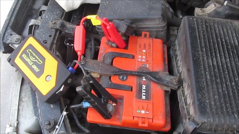 JUMP STARTER MULTI - заводим на морозе Toyota Carina E 2.0 с севшим АКБ