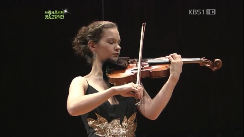 Mendelssohn Violin Concerto E Minor OP.64 (Full Length) - Hilary Hahn FRSO