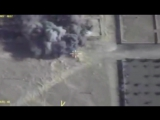 Авиаудары ВКС РФ по боевикам ИГИЛ, отступающим в направлении ДЕЙР‑ЭЗ‑ЗОР