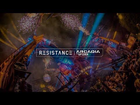 Coyu DJ set @ Ultra 2018: Resistance Arcadia Spider - Day 1 (BE-AT.TV)