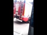 Тревога в 207 пожарно-спасательном отряде г.Москвы