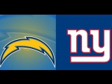 NFL 2017-2018 / Week 05 / 08.10.2017 / Los Angeles Chargers @ New York Giants