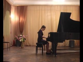Воробьева Наталья - Ф. Бургмюллер. Песня пряхи.
