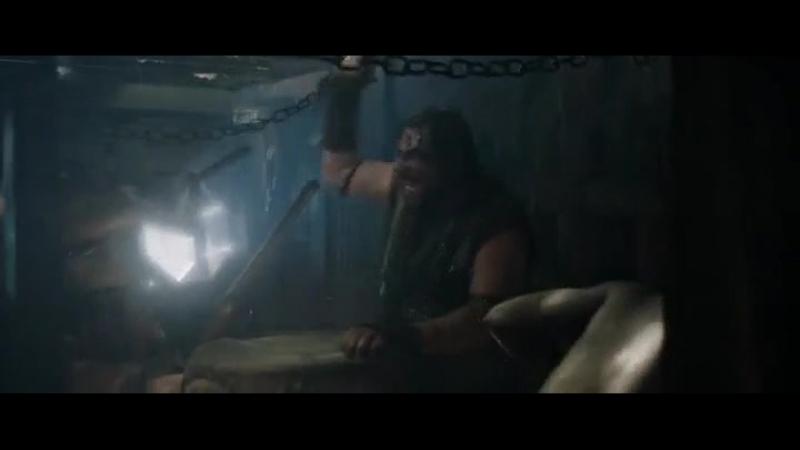 Бен-Гур (Ben-Hur, 2016), сцена морского сражения.