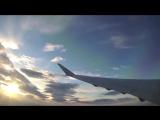 Утренний рейс с AdriaAirways… Красиво и вдохновляюще!