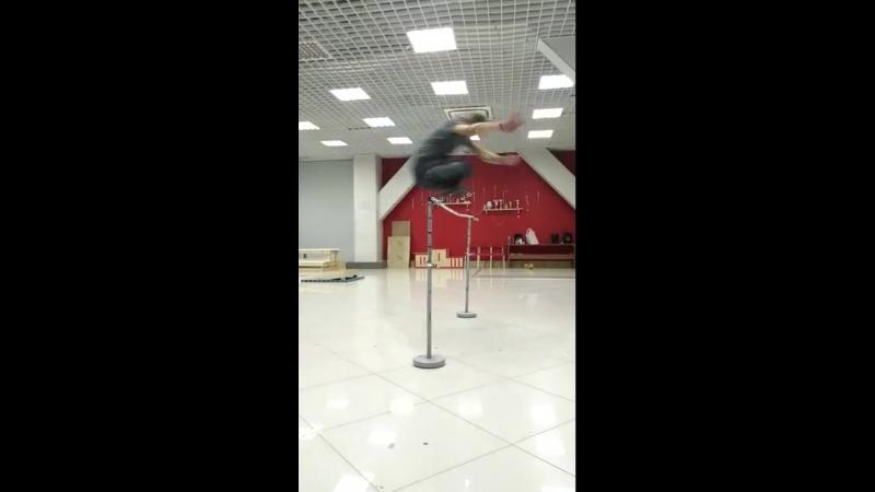 прыжок в квадах