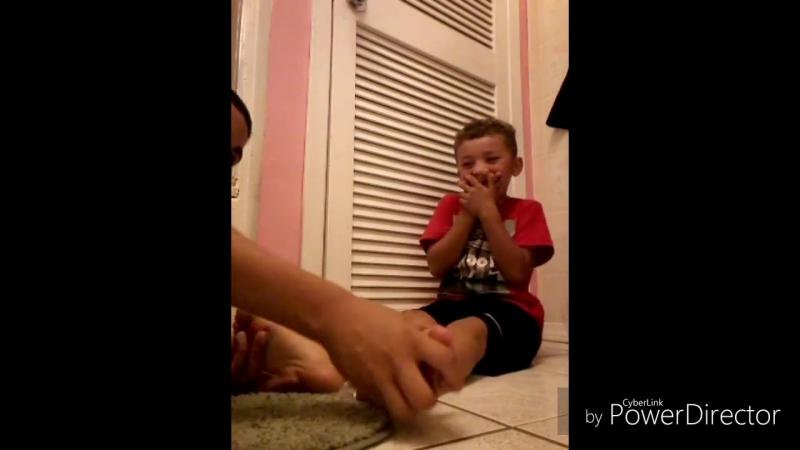 Cute Feet Tickling Challenge
