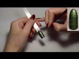 Модный маникюр - 8 идей рисунков по мокрому гель лаку кошачий глаз