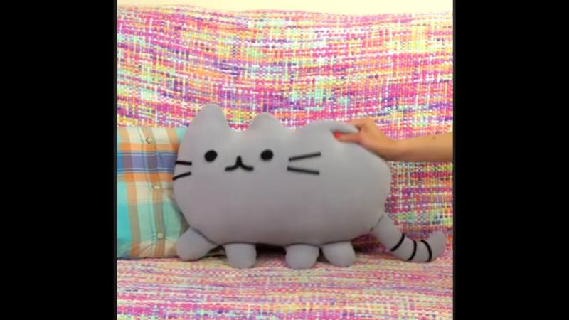 Милый котик Pusheen своими руками Люблю котиков