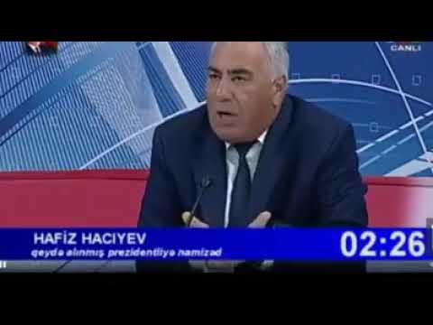 Hafiz Hacıyev deyibki Avropada yaşayan azərbaycanlıları ermənilər öldürəcək