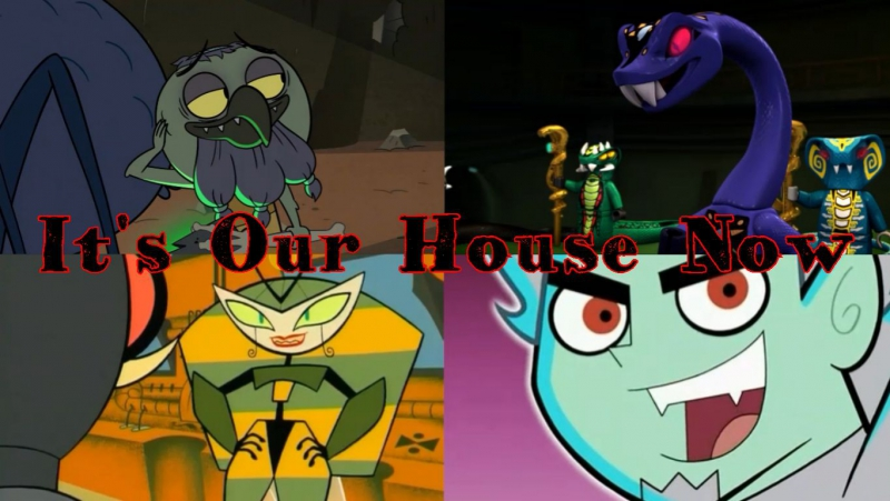 Disney Villains - Its Our House Now. AMV PMV. Crossover
