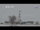 "Запуск ""Союза-2.1а"" с космодрома Байконур"