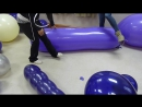 Two Amateur Girls pop balloons part 2