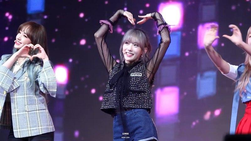 [Fancam] 180325 Wonder Girls - Tell me, SNSD - Gee, Kara- Mister covers UZZU PARTY Fanmeeting @ Luda