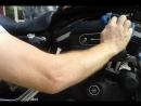 Друзья с мотосалона отдолжили Harley 883 и я его собственноручно надрая для поездки по городу