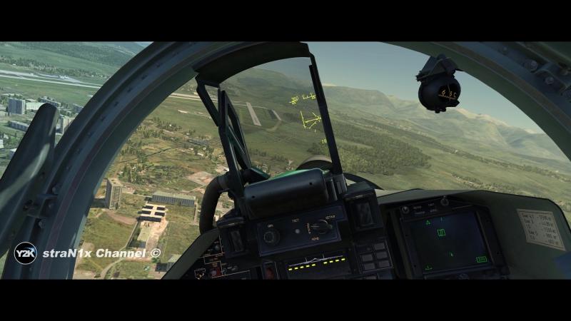 DCS World - Су-27 Посадка с полными баками