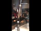 ScHoolboy Q and Zacari in THe Studio
